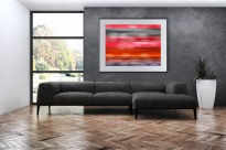 """Red Bands -- Archival Pigment Print - 24"""" x 30"""""""