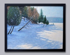 "Meech Lake - Oil on Canvas - 24"" x 36"""