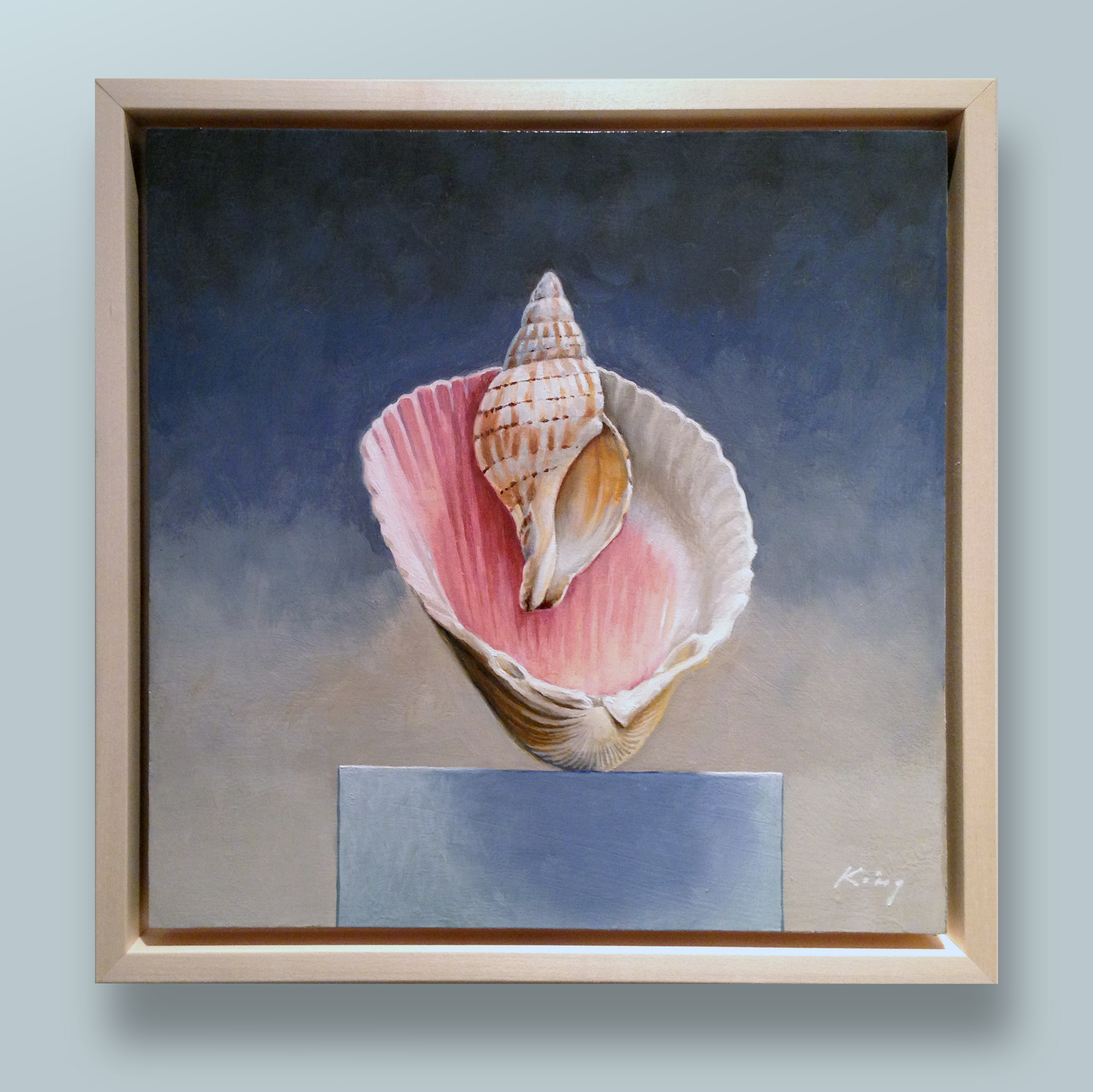 "Birth of Venus - 12""x12"" - Oil - $400.00"