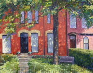 "Hazelton Avenue - 24""x30"" - Oil on canvas - $3,000.00"