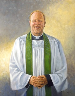 """Andrew Absil - Anglican Bishop of Toronto - 30"""" x 24"""" - oil on canvas"""
