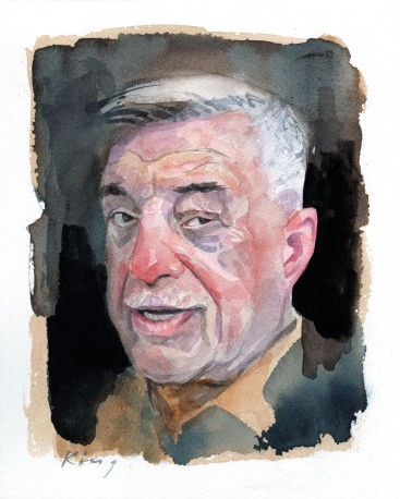 "Tony - Watercolour - 9""x7"""