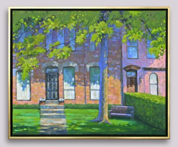 "Hazelton Avenue - 30"" x 24"" - Oil"